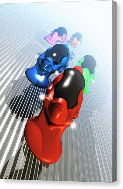 One Direction Canvas Print - Futuristic Vehicles by Victor Habbick Visions