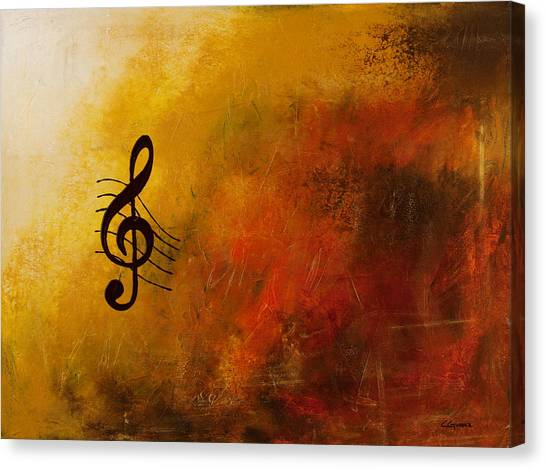 G Symphony Canvas Print