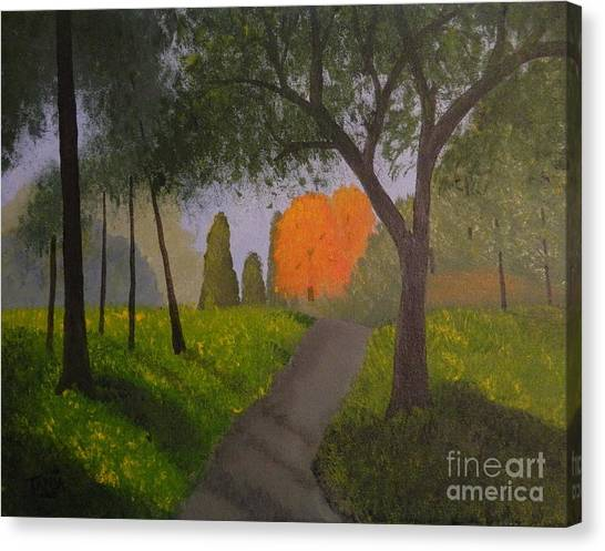 Gabby's Path Canvas Print