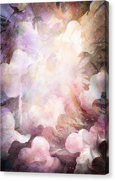 Angel Of Peace Canvas Print - Gabriel by Rachel Christine Nowicki