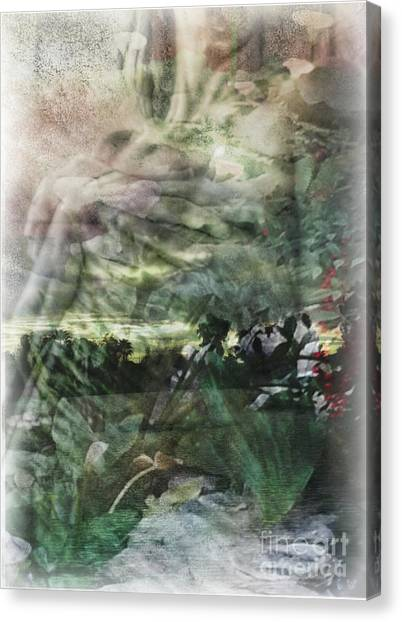Gaia Canvas Print by Liz Campbell