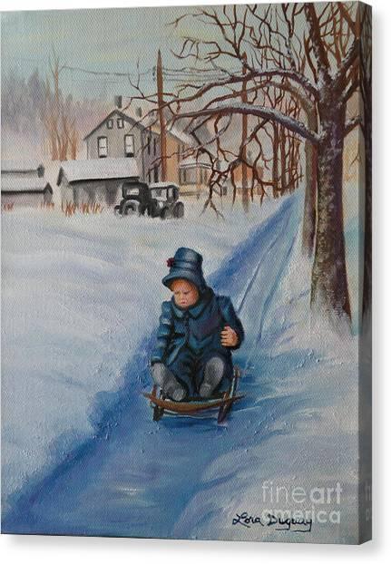Gails Christmas Adventure Canvas Print