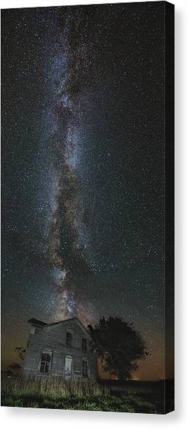 Sly Canvas Print - Galactic Alignment by Aaron J Groen