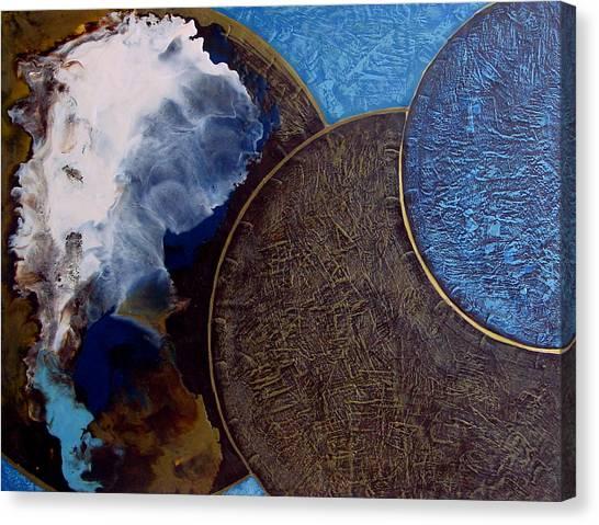 Galactic Consciousness Canvas Print