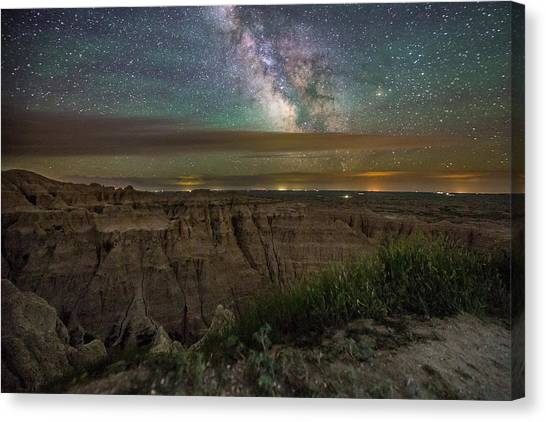 Galactic Pinnacles Canvas Print