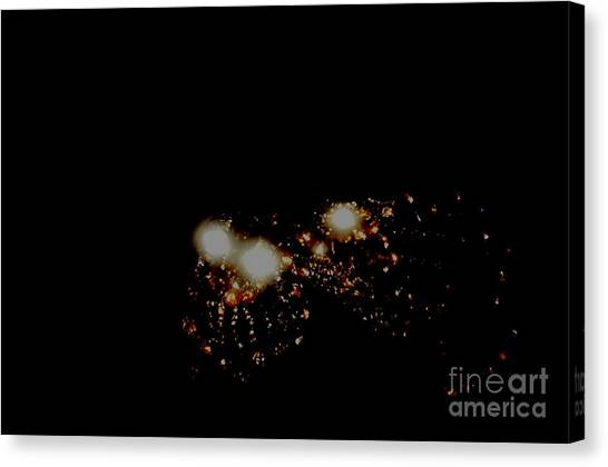 Galaxy-n Canvas Print by Baljit Chadha