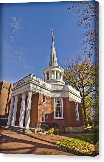 Ohio University Canvas Print - Galbreath Chapel by Shirley Tinkham
