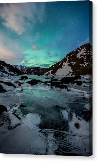 Gale-force Aurora V Canvas Print