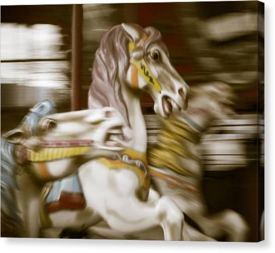 Gallop 1 Canvas Print