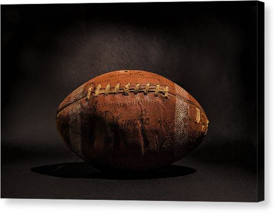 Game Ball Canvas Print
