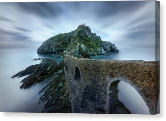 Spain Canvas Print - Games Of Thrones - Dragonstone Island -san Juan De Gaztelugatxe by Jes?s M. Garc?a