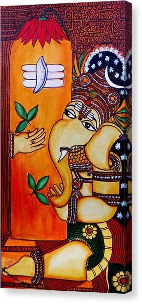 Ganapathy Canvas Print