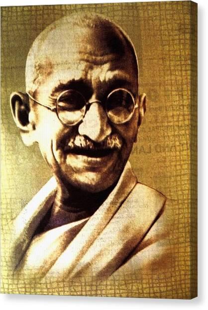 Gandhiji Canvas Print