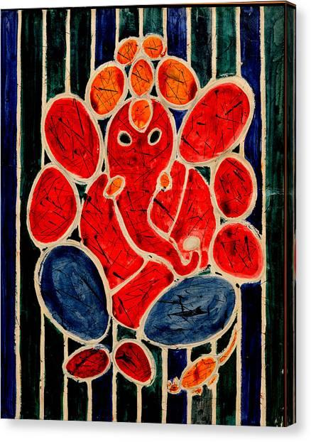 Ganesha-3 Canvas Print