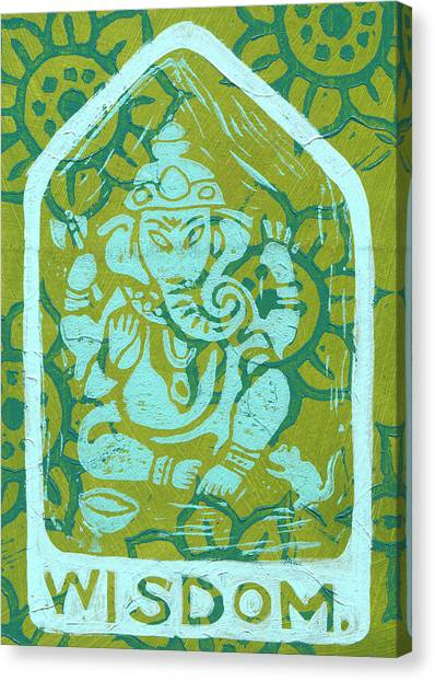 Ganesha Wisdom  Canvas Print