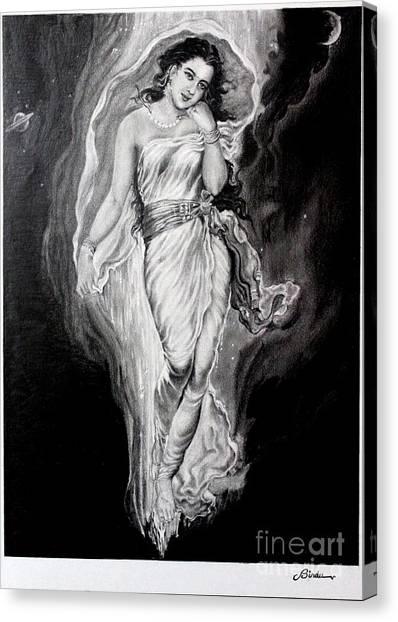 Gangadevi  Canvas Print by Bindu Vulli