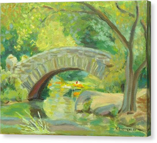 Gapstow Bridge Ny Canvas Print