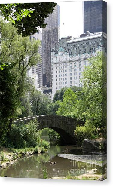 Canvas Print - Gapstow Stone Bridge  by Christiane Schulze Art And Photography