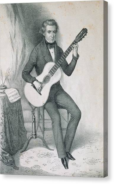 Stringed Instruments Canvas Print - Garcia Aguado, Dionisio (1784-1849 by Prisma Archivo