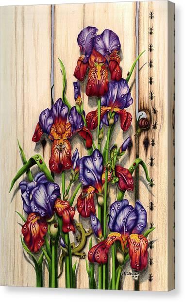 Garden Camouflage Canvas Print