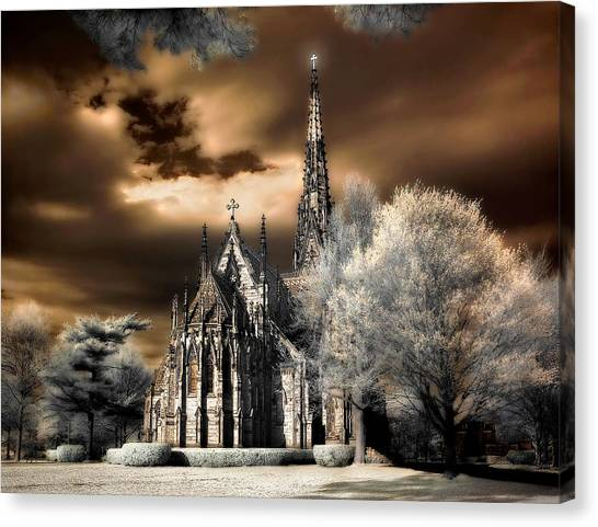 Garden City Cathedral #2 Canvas Print