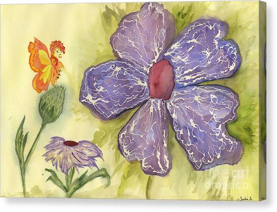 Garden Friends Canvas Print