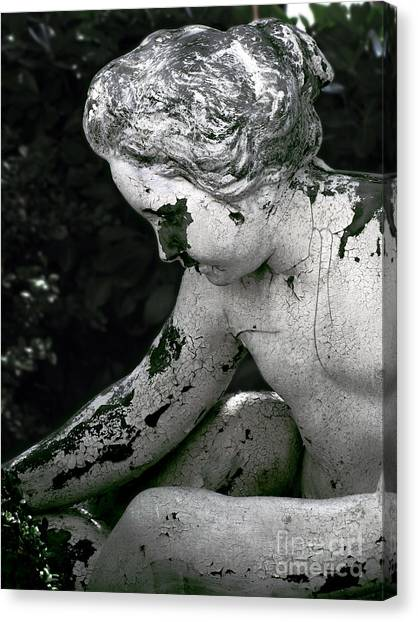 Garden Nymph Canvas Print by Colleen Kammerer
