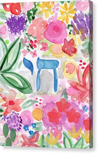 Easter Canvas Print - Garden Of Life by Linda Woods