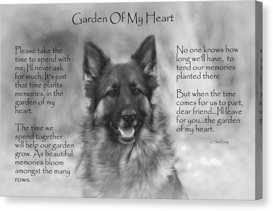 Garden Of My Heart Canvas Print
