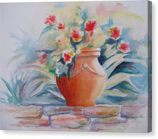 Garden Presentation  Canvas Print
