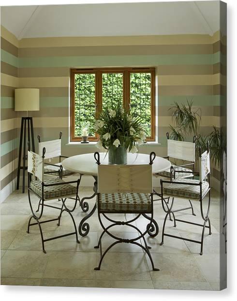 Garden Room Canvas Print by Phototropic