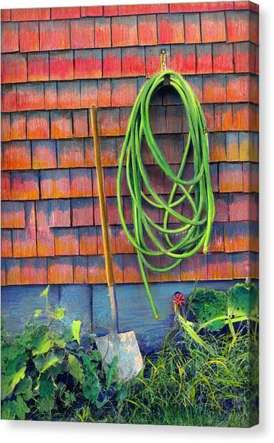 Gardener's Rest Canvas Print