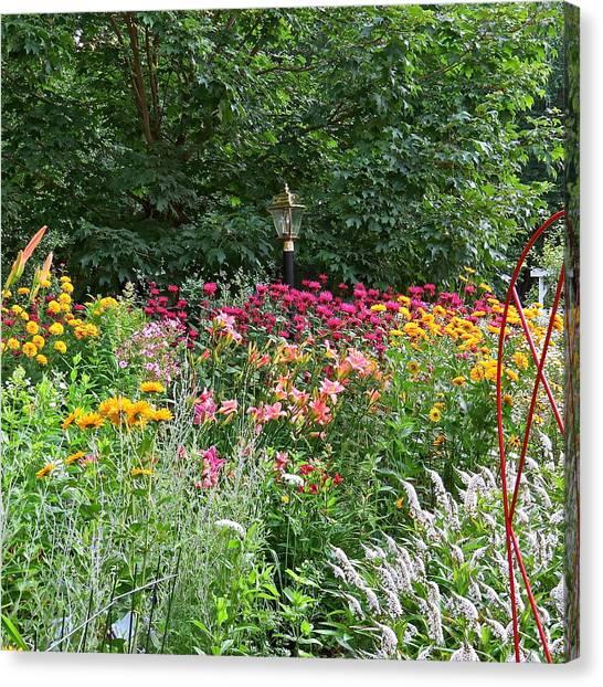 Gardens 109 Canvas Print by Patsy Pratt
