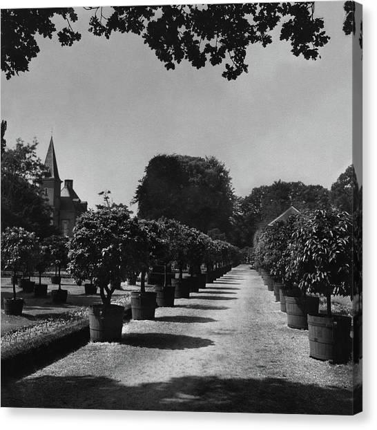 Gardens Of Twickel Castle Canvas Print