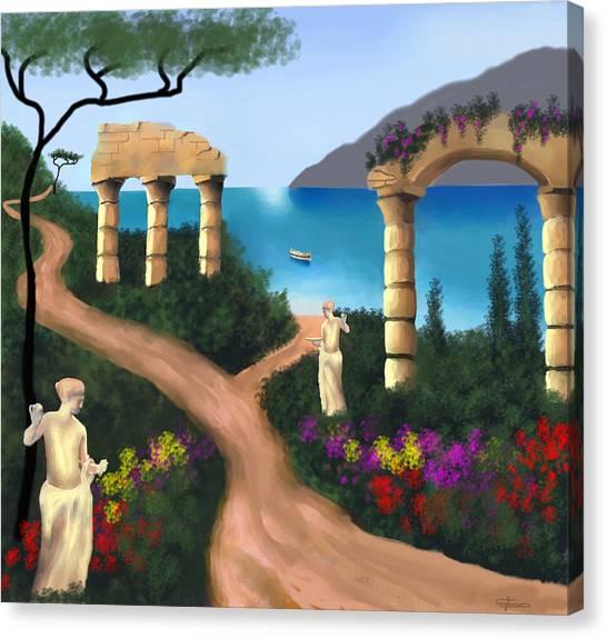 Gardens Of Venus Canvas Print