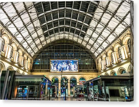 Gare Du L'est Canvas Print