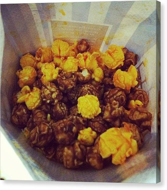 Popcorn Canvas Print - Garrett's Popcorn. Best Ever! by TC Li