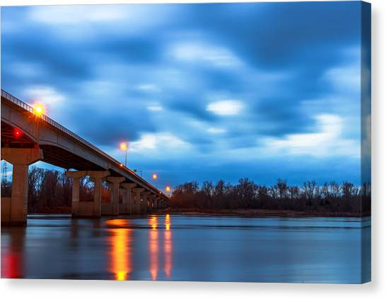 Garrison Ave. Bridge Canvas Print