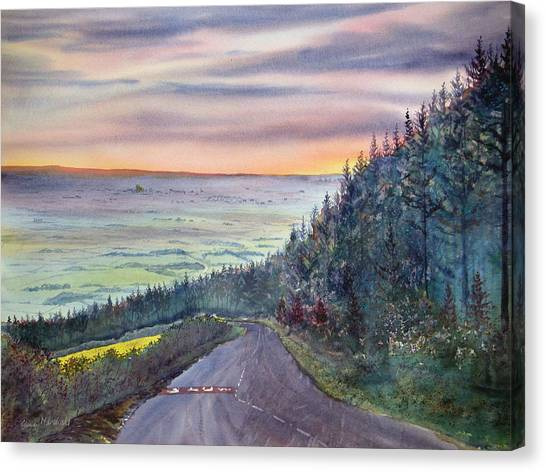 Garrowby Hill Canvas Print