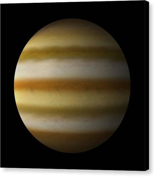 Gas Giant #7 Canvas Print