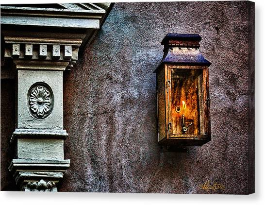 Gas Lantern Canvas Print