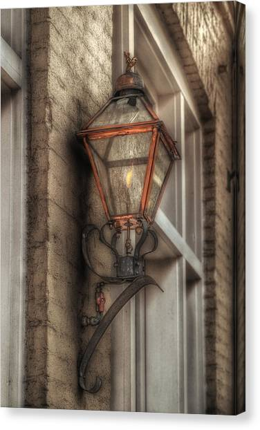 Gas Light Of New Orleans Canvas Print