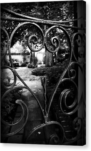 Gated Heart Canvas Print