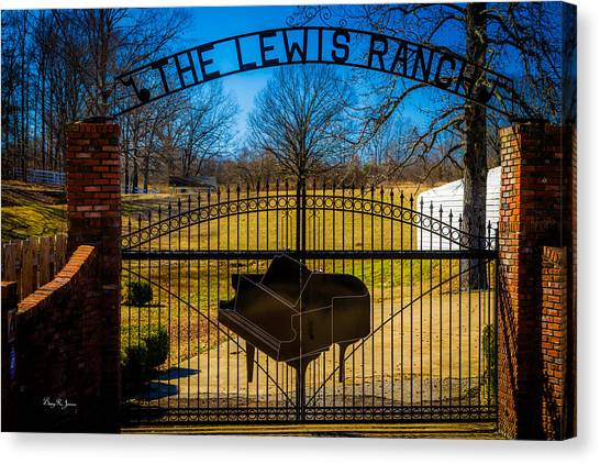 Gates Of Rock And Roll Canvas Print