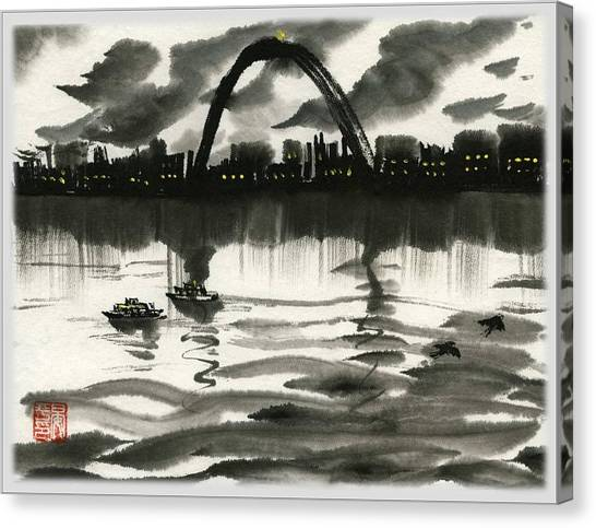 Gateway Arch Canvas Print