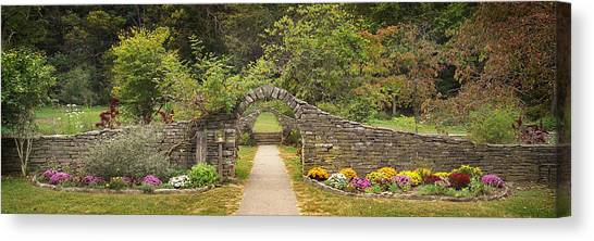 Gateway To The Garden Canvas Print