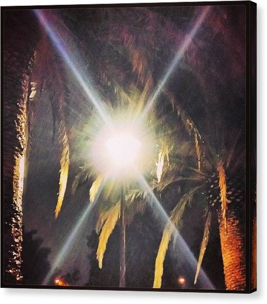 Ucsb Canvas Print - Gaucho Rain #santabarbara #rain #ucsb by Matthew Gilbert