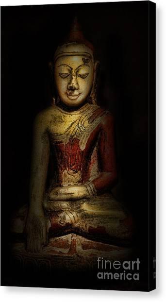 Gautama Buddha Canvas Print by Lee Dos Santos