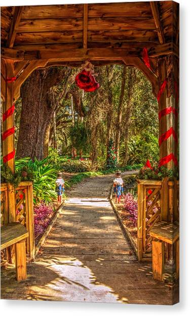 Gazebo Bells Canvas Print