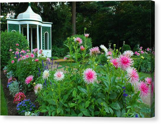 Gazebo Bloom Canvas Print